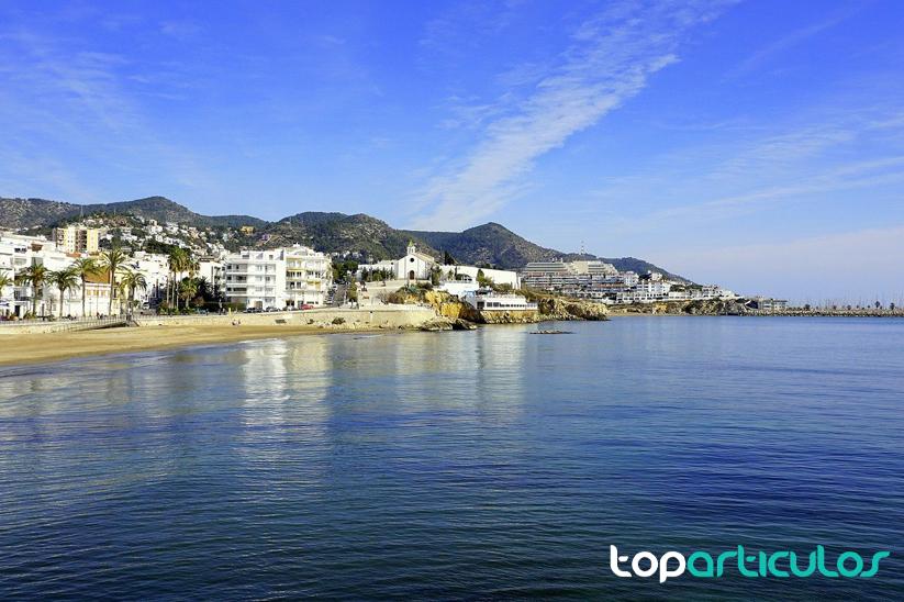 Playa de Sitges.