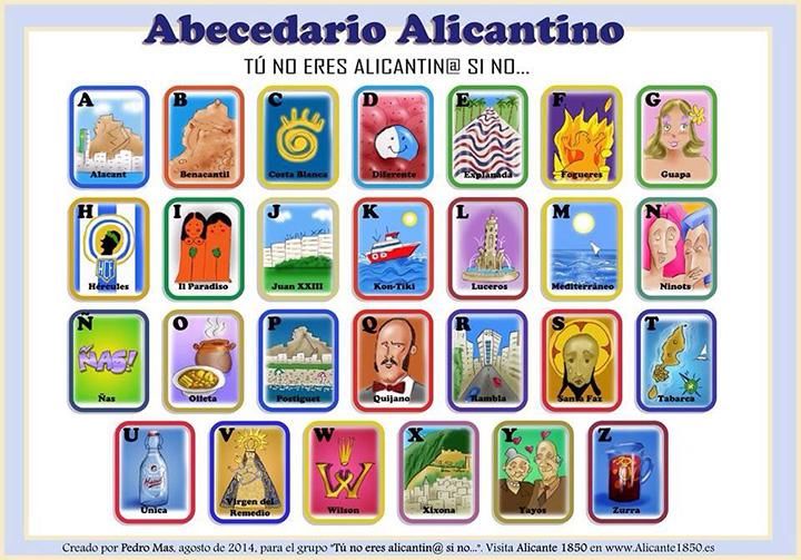 Abecedario Alicantino
