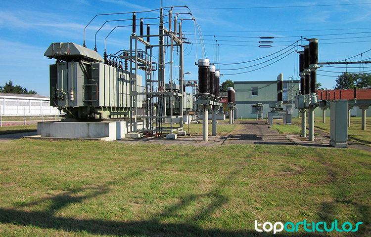 Centro de transformación de energía