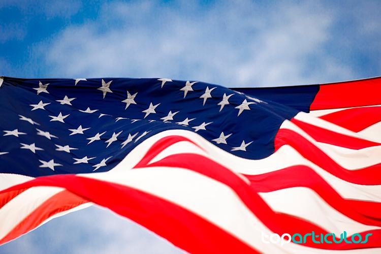 Bandera de los Estados Unidos USA.