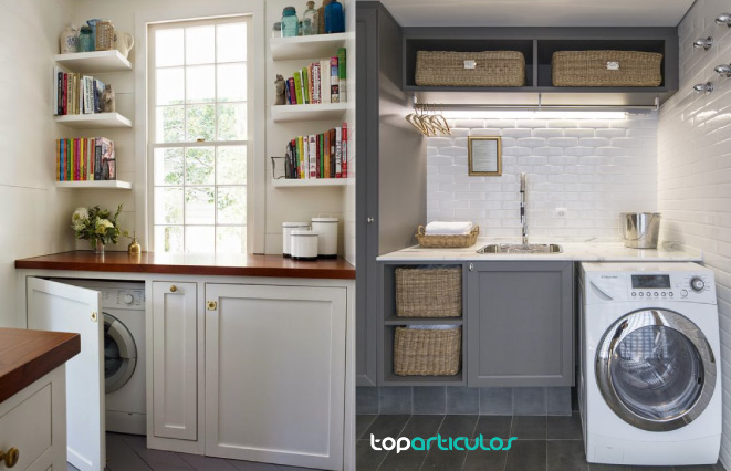 Crea tu propio cuarto de lavado y planchado en casa top for Ideas para el lavadero