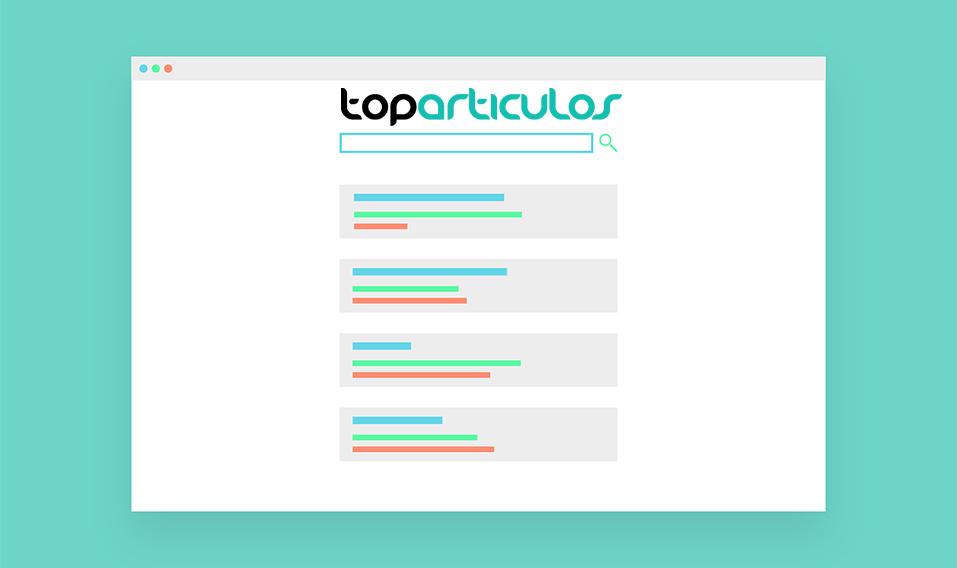 Top Artículos: Artículos patrocinados