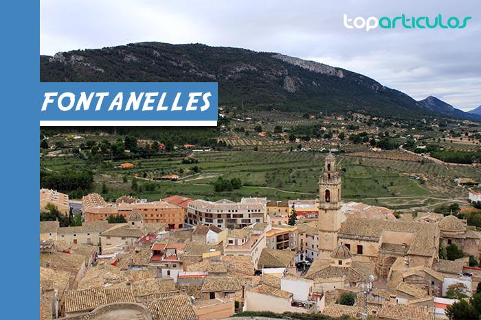 Vista aérea de Fontanelles
