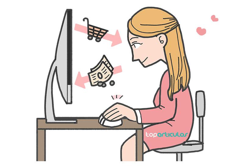Comodidades de comprar en Internet