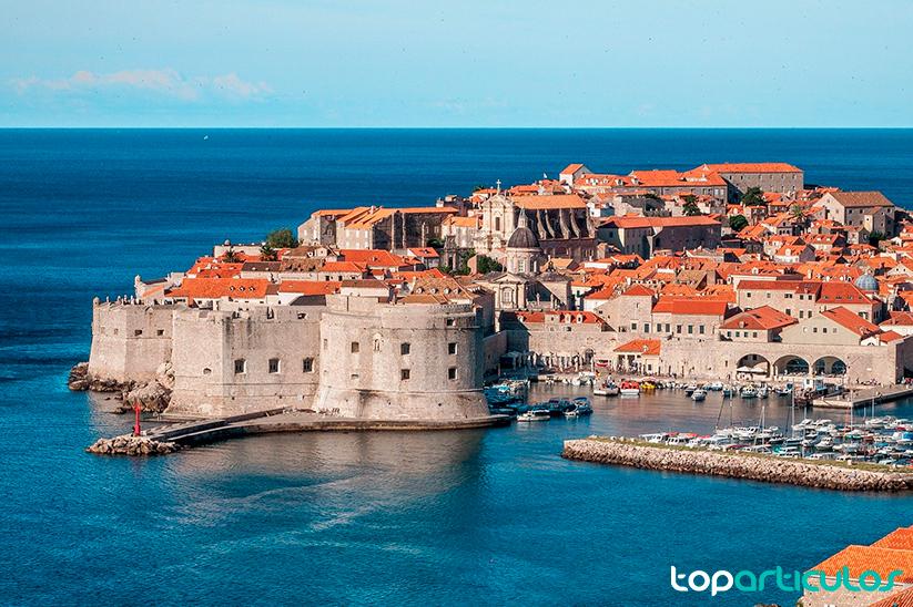 Espectaculares vistas de Dubrovnik