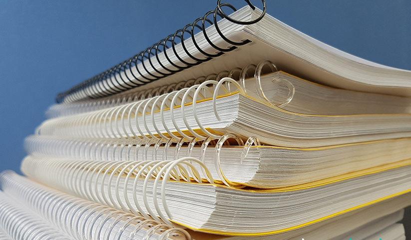 Cuadernos con espiral