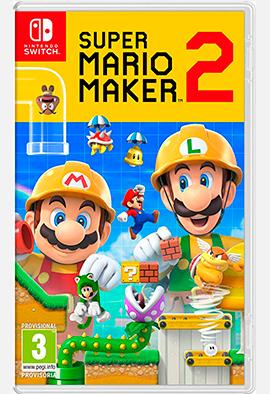 Juego Nintendo: Super Mario Maker 2