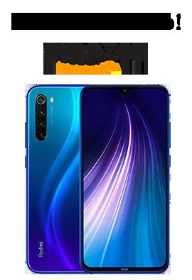 Lo más vendido en Amazon: Smartphone Xiaomi Redmin Note 8.