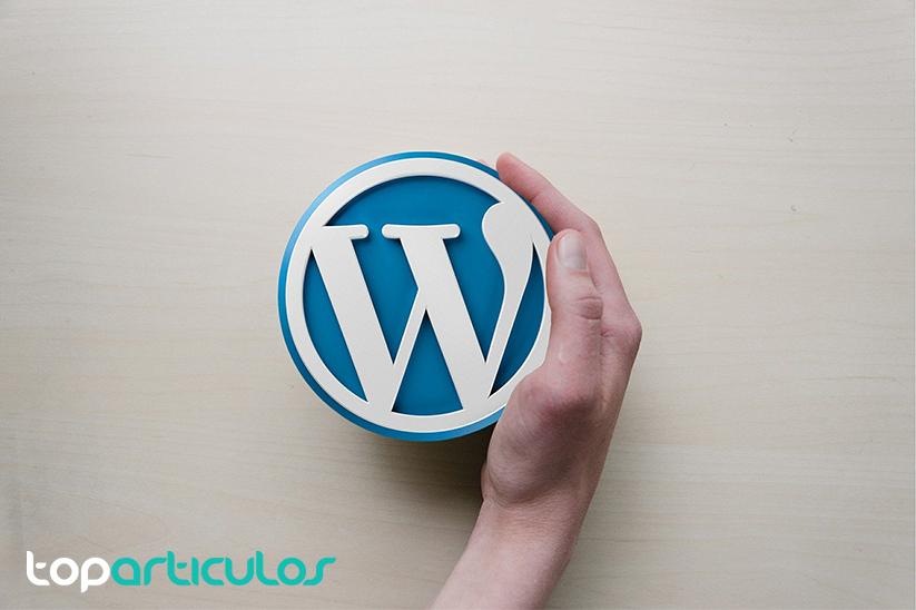 Logotipo de Wordpress.