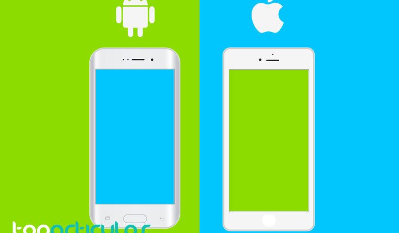 Diferencias entre iOS y Android.