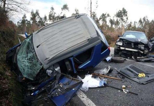 Accidente en Albacete de coche de licencia marca Aixam.