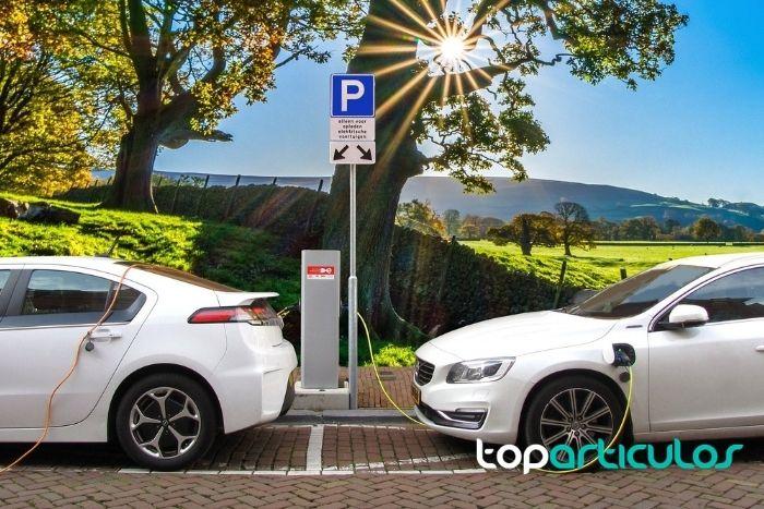 Imagen de Recarga de coche eléctrico.
