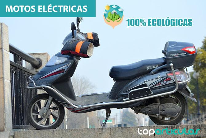 Las motos eléctricas son ecológicas 100%